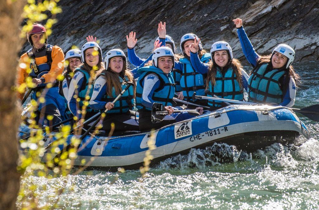 Rafting y Deportes Acuáticos para Colegios