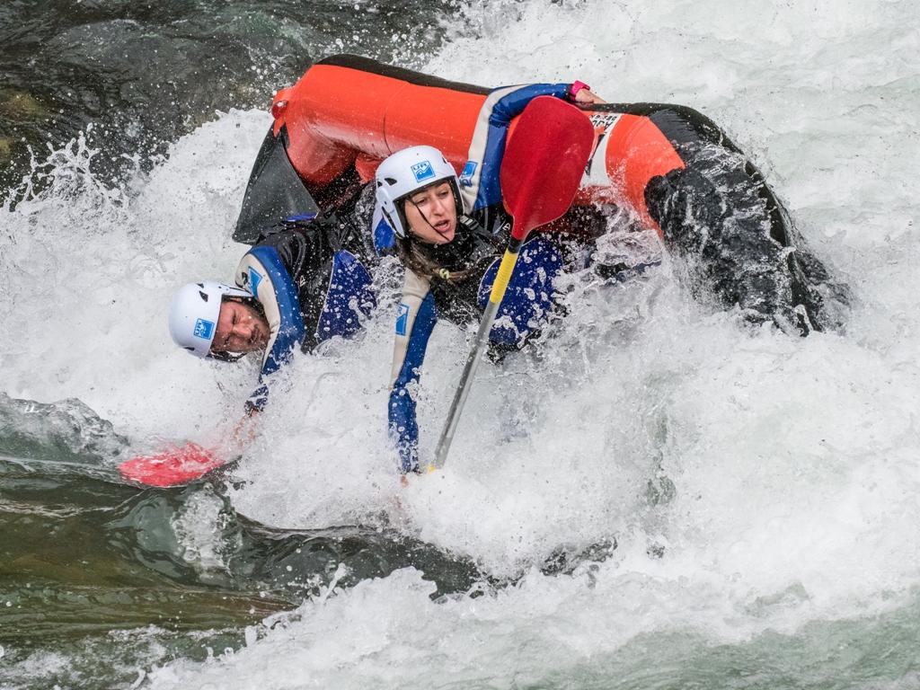 Rafting III en abril en Murillo de Gallego
