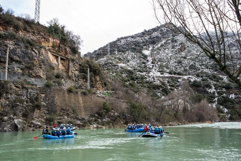 Rafting en Marzo con Nieve