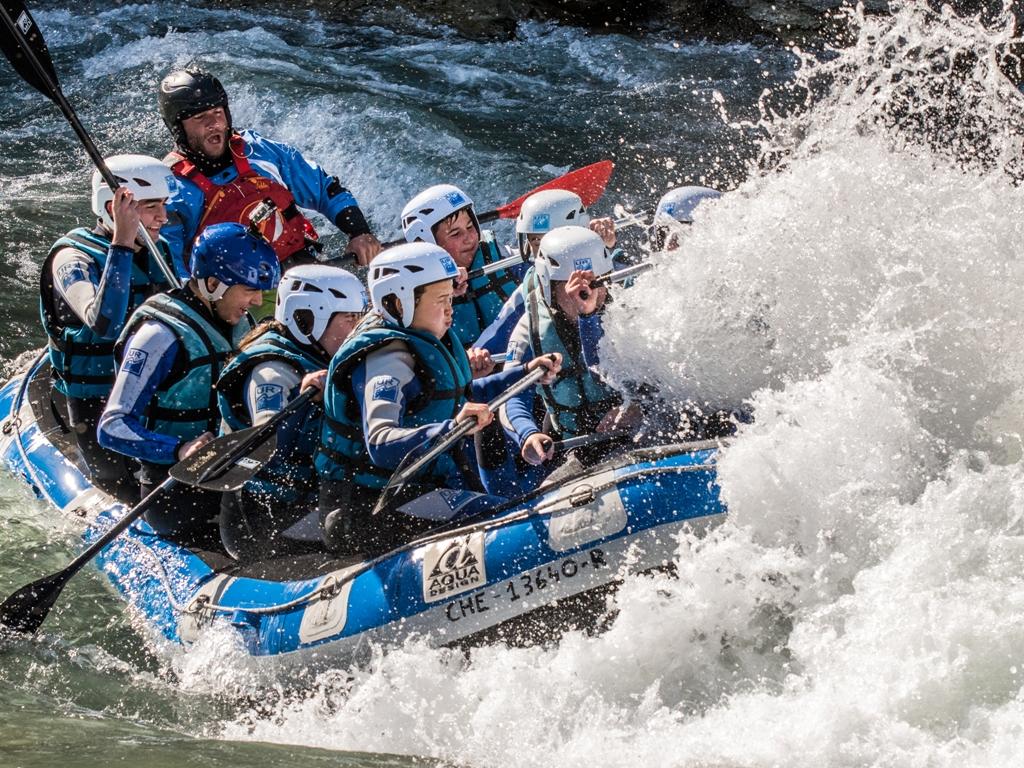 Rafting para centros escolares