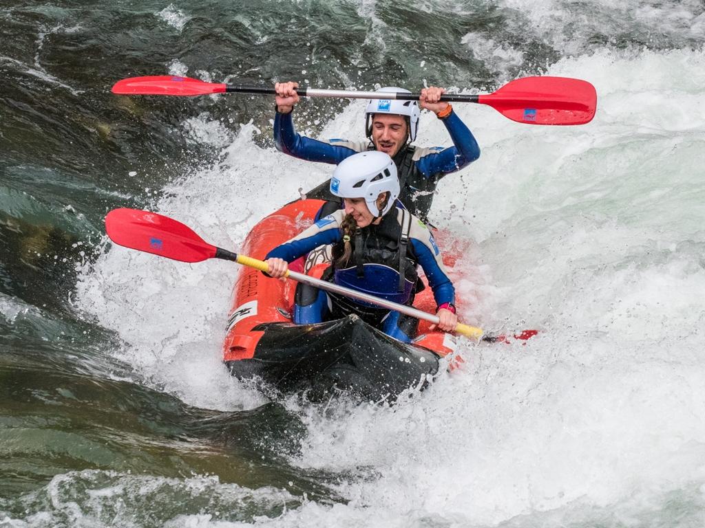 Kayak semana santa pirineos