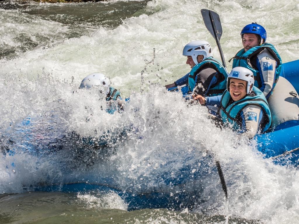 Rafting rio gallego deportes de aventura
