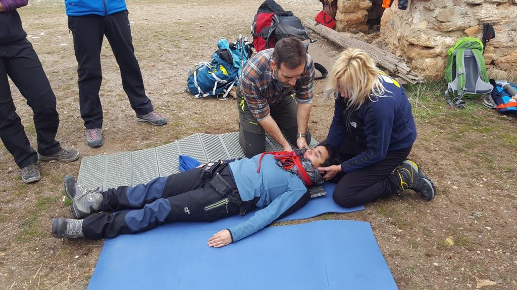 Cursos de Primeros Auxilios en Montaña