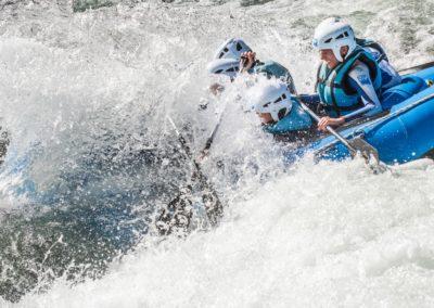 Adrenalina a tope en rafting en primavera