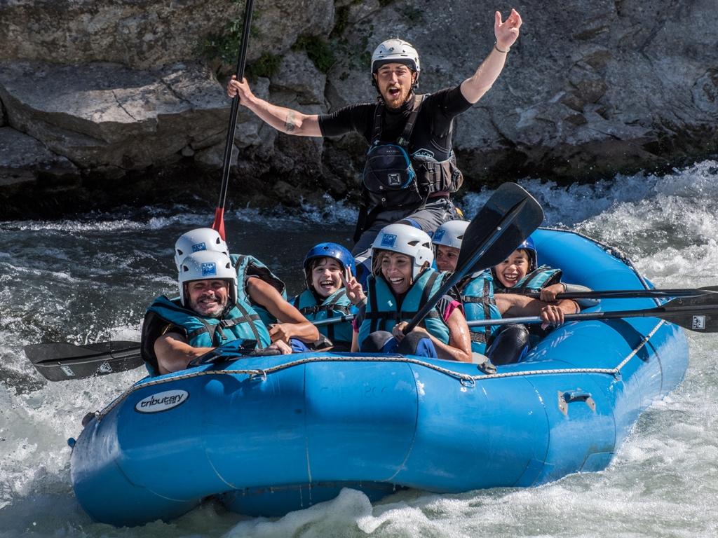 Rafting, aventura para las vacaciones de verano