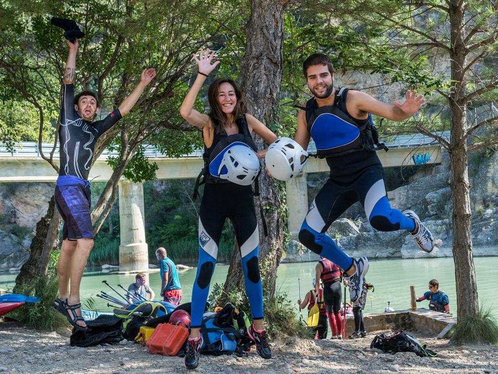 Deportes de aventura en pareja en septiembre Huesca