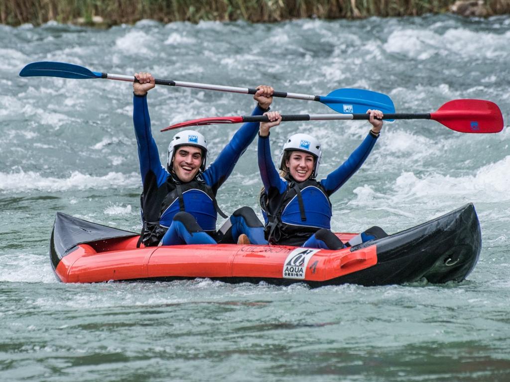 Open Kayak y Canoas con UR Pirineos en Huesca