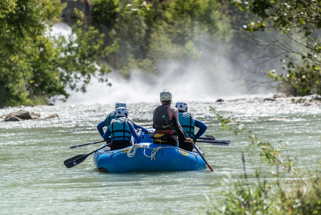 Rafting Murillo de Gallego septiembre