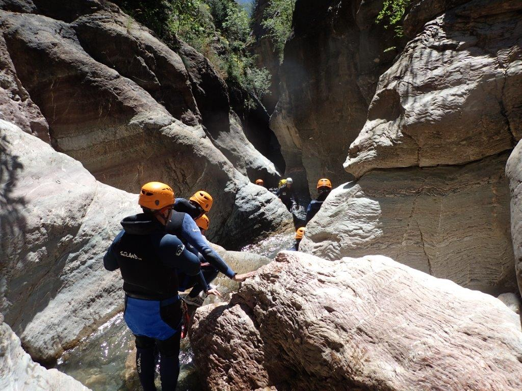 Oferta Barranco en Pirineo de Huesca con UR Pirineos