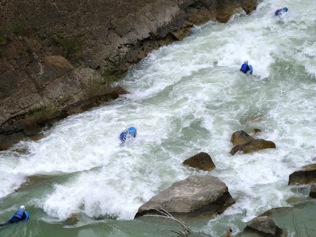 Oferta hidrospeed en primavera rio gallego huesca adrenalina UR Pirineos