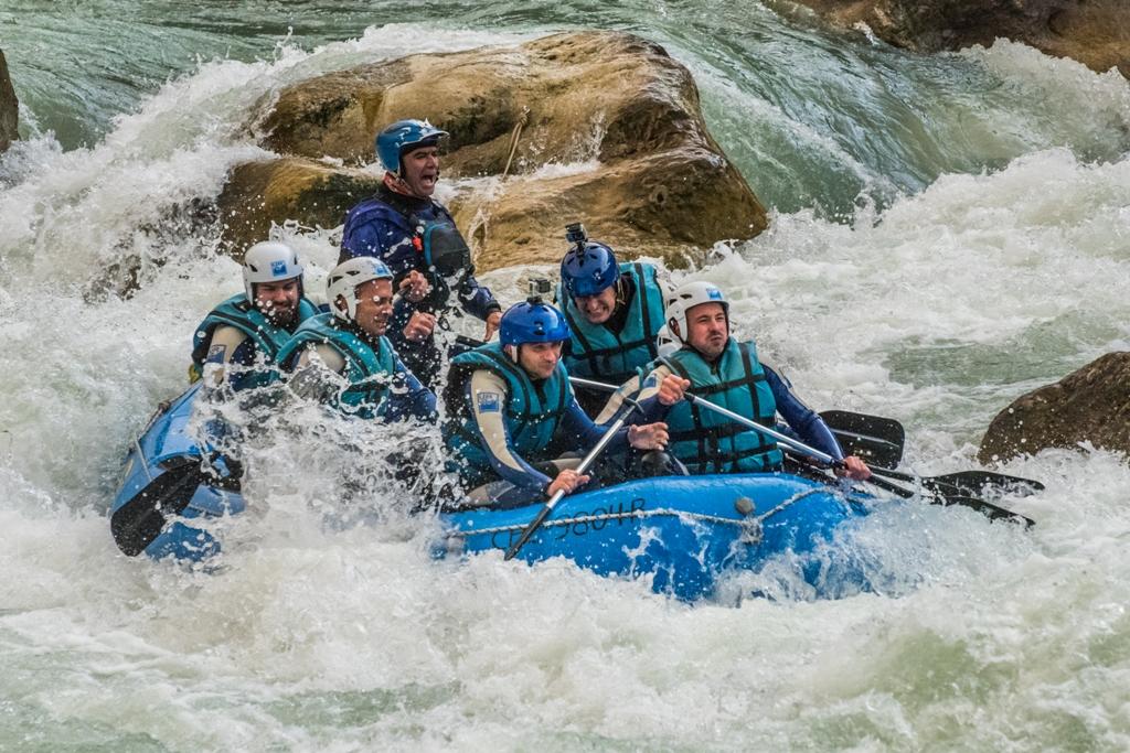 Rafting en Huesca con adrenalina Murillo de Gallego