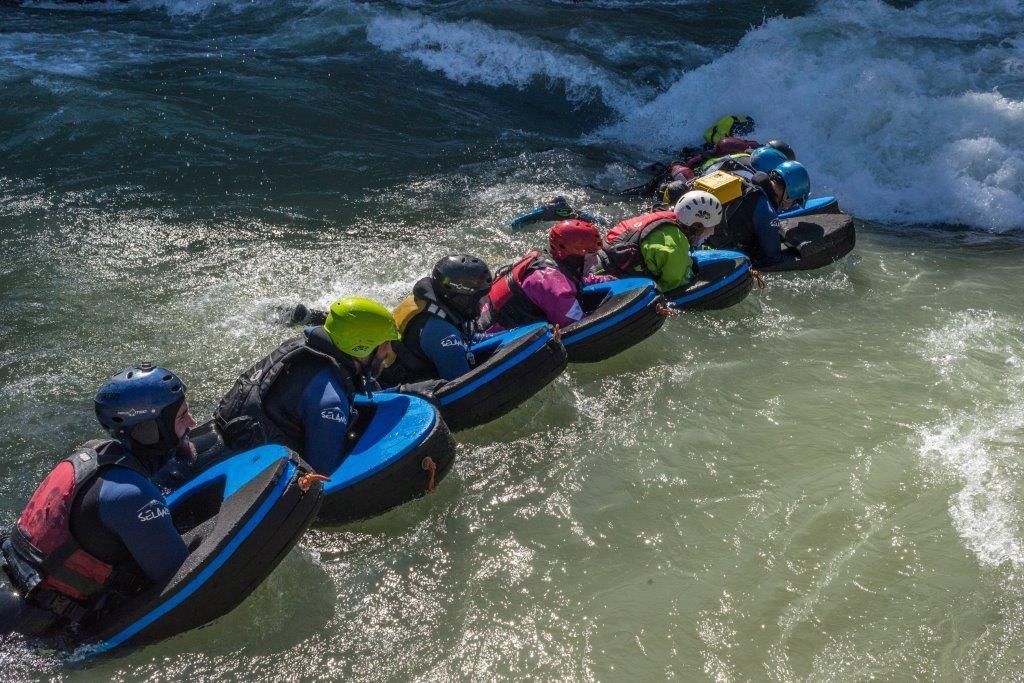 Formación profesional: Conducción de hidrotrineos y rafting
