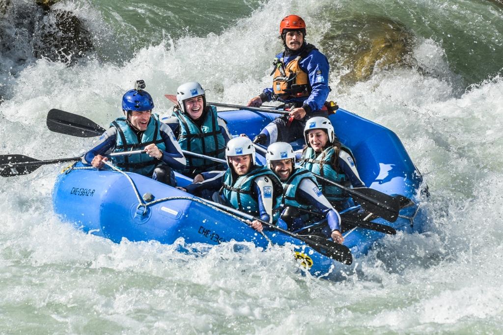 Rafting Gállego Huesca Puente de Mayo