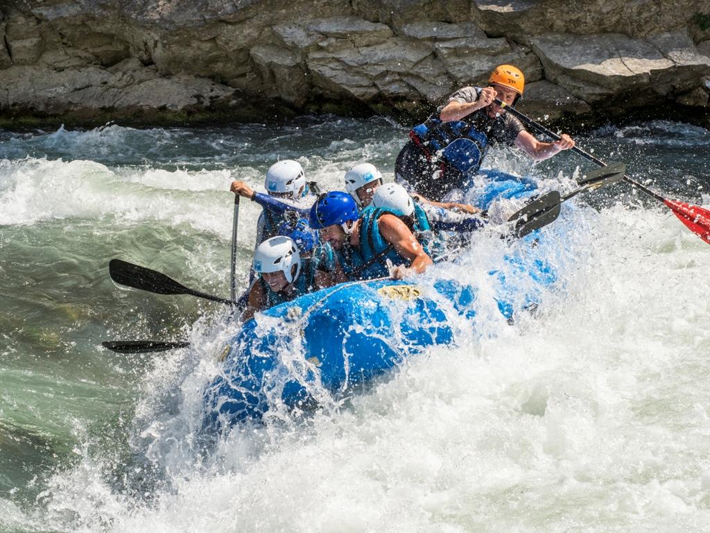 Actividad de aventura para las vacaciones en el valle de Tena