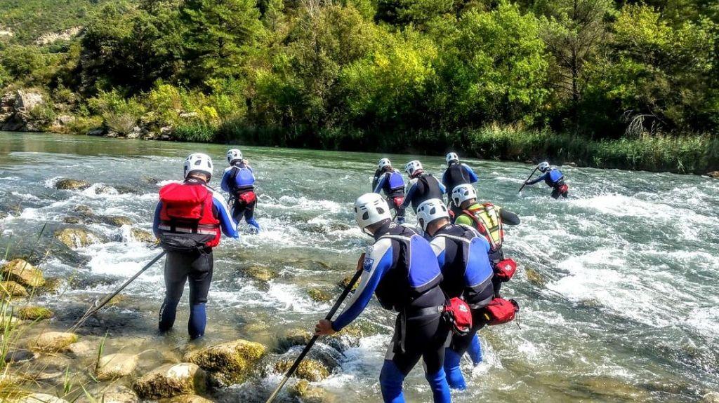 Un gran año dedicado a la formación en rescate en aguas bravas y en turismo activo