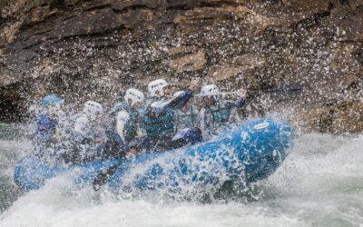Rafting cerca de Formigal/ valle de Tena