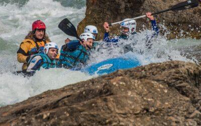 Rafting cerca de Ordesa