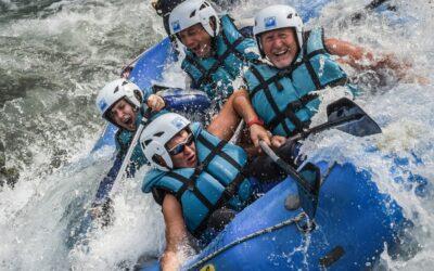 Rafting cerca de los Mallos de Riglos