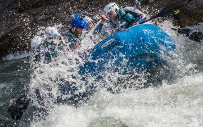 Rafting cerca de Ainsa