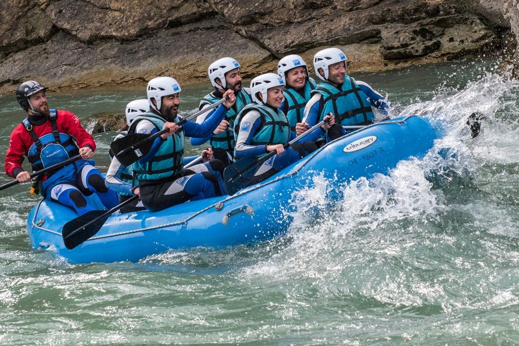 ¿Dónde hacer Rafting en Huesca?