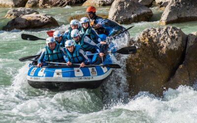 Rafting cerca de Loarre