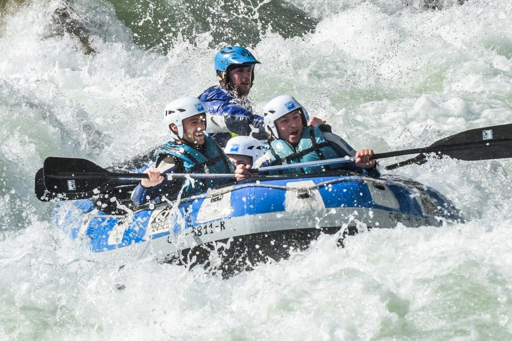 rafting familia