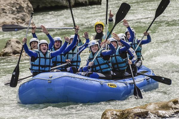 Rafting en huesca y zaragoza murillo de gallego UR PIRINEOS