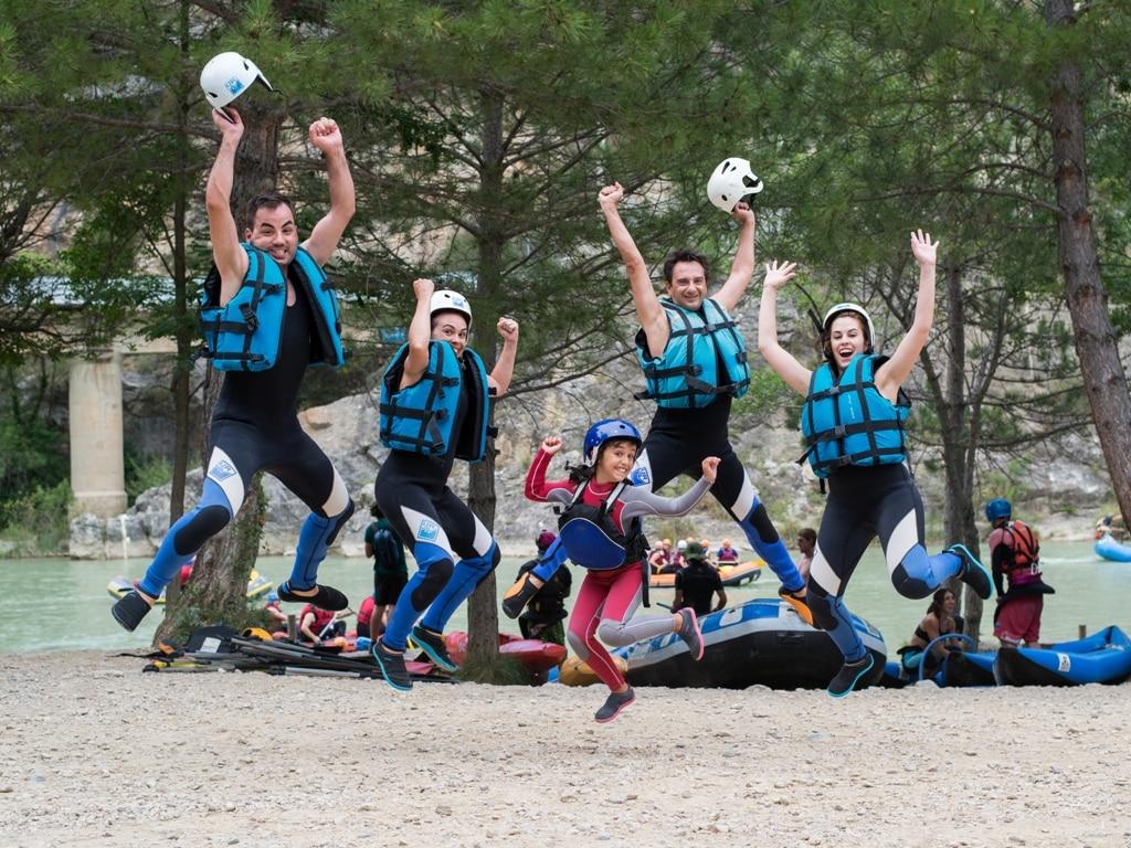 Vacaciones multiaventura en familia con niños de 8 años UR Pirineos