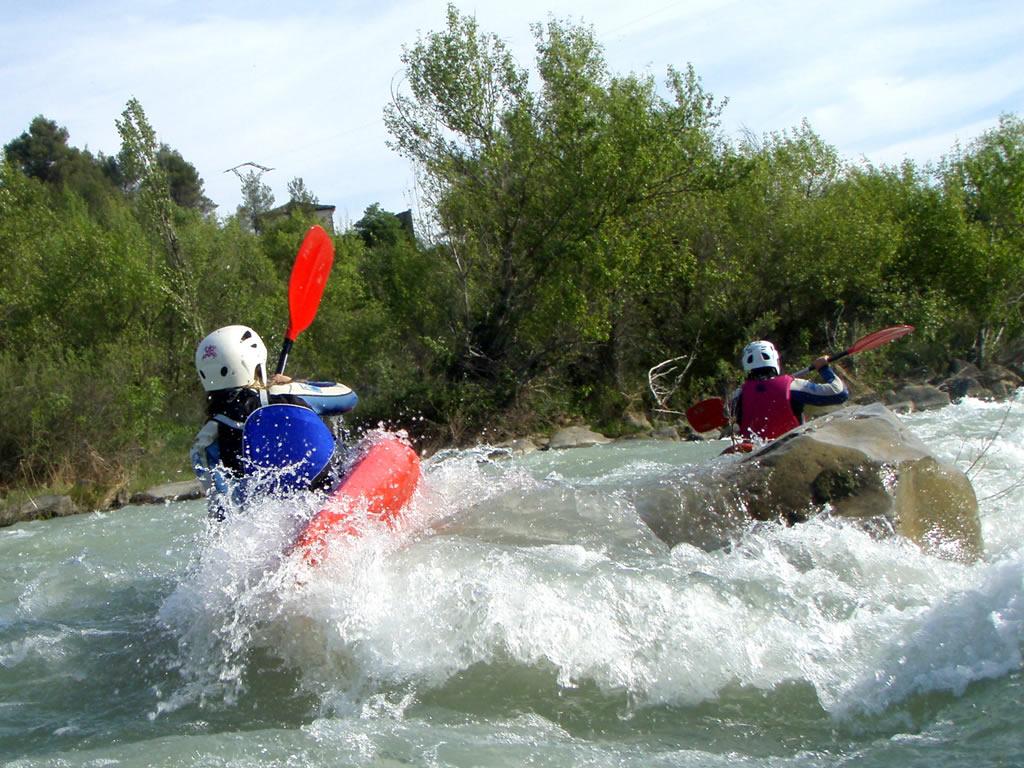 kayak huesca